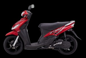 Yamaha Mio - available in Red, Blue, Black and White compressed
